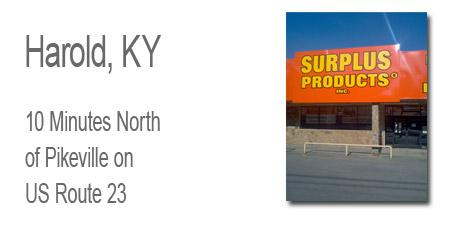 Surplus Products, Harold Kentucky